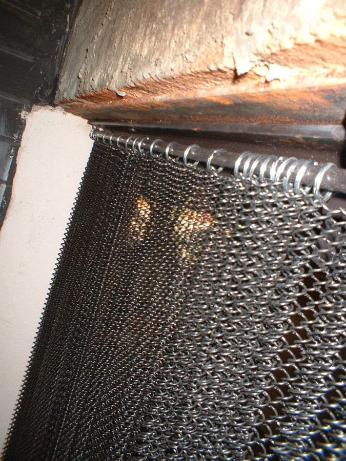 Mesh Curtain Details