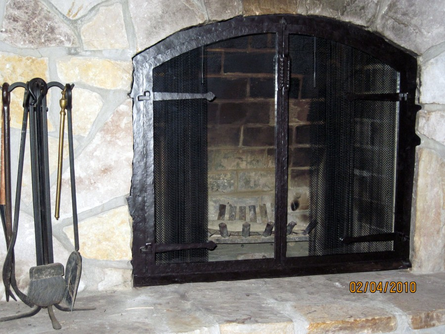 Arched Glass Fireplace Doors various styles of glass door fireplace screens