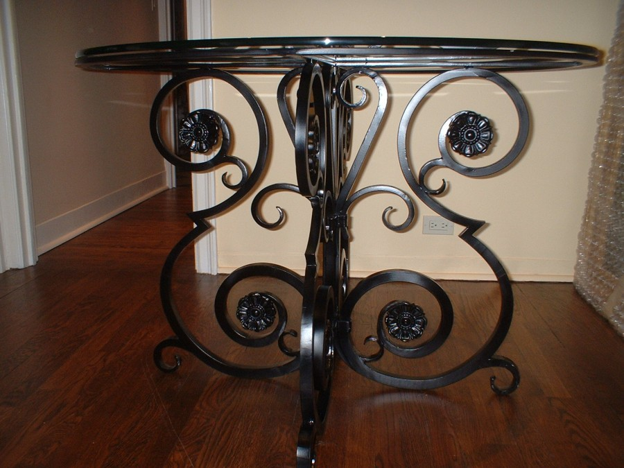 Iron Table Base Wrought Iron Table Base The Perfect Dining Table