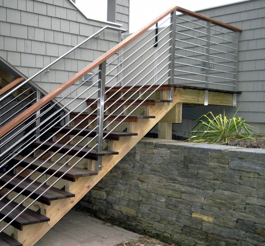 Round Rod Stair Rails