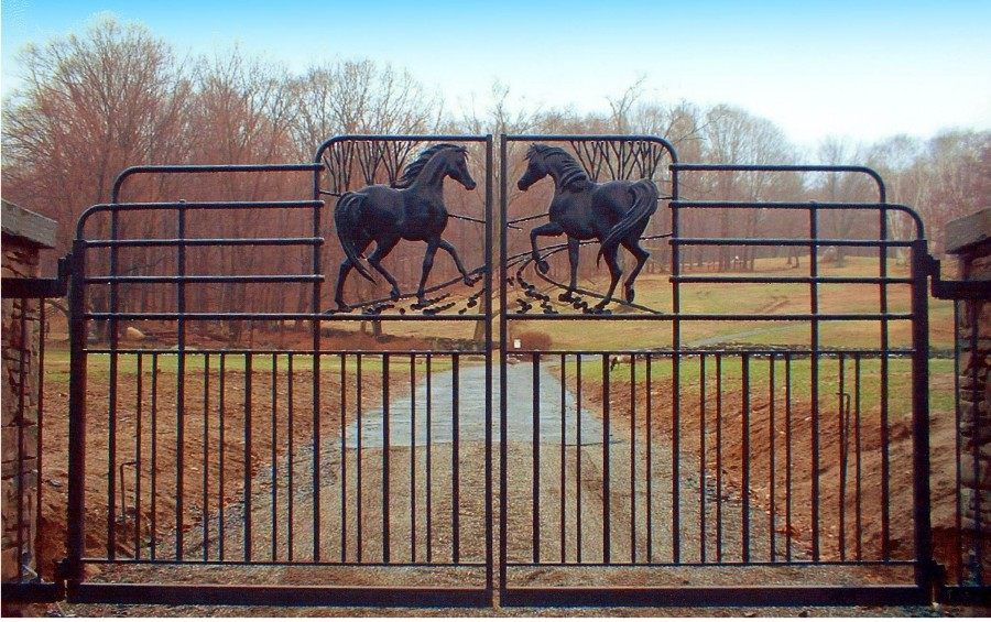 Reich Horse Entrance Gate