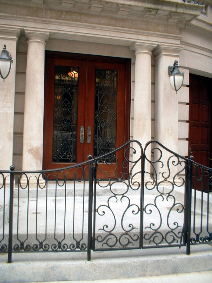 Ornamental Iron Entrance Gate