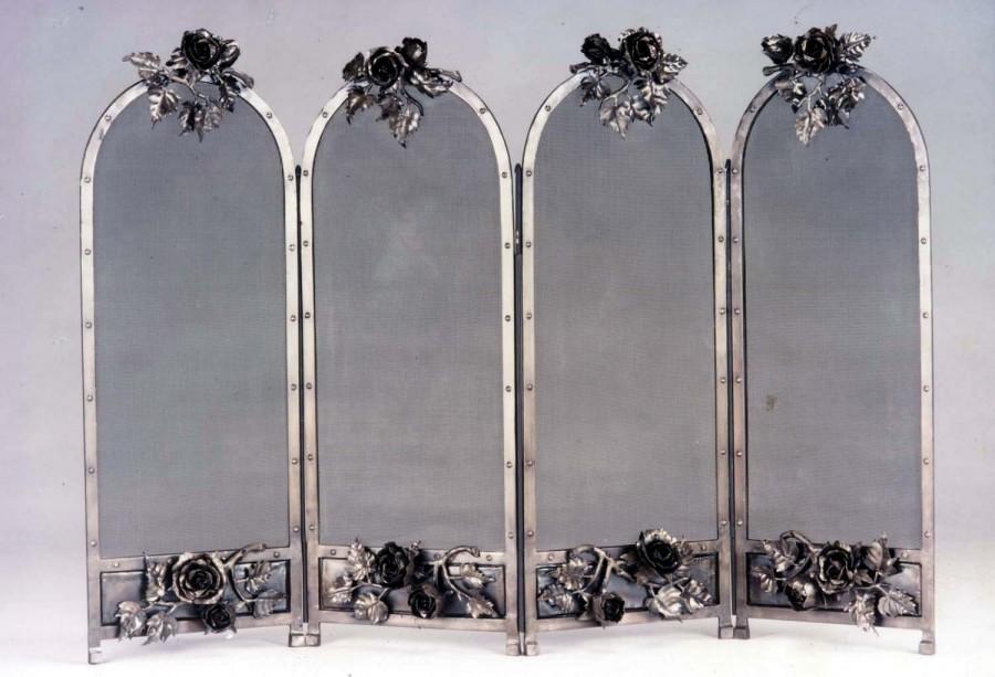 panel doors minuteman wrought windowpane with home international improvement pdx screen iron screens fireplace