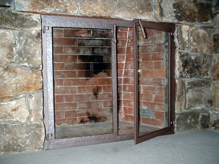 Custom Wrought Iron Fireplace Screens, Fireplace Surrounds and ...
