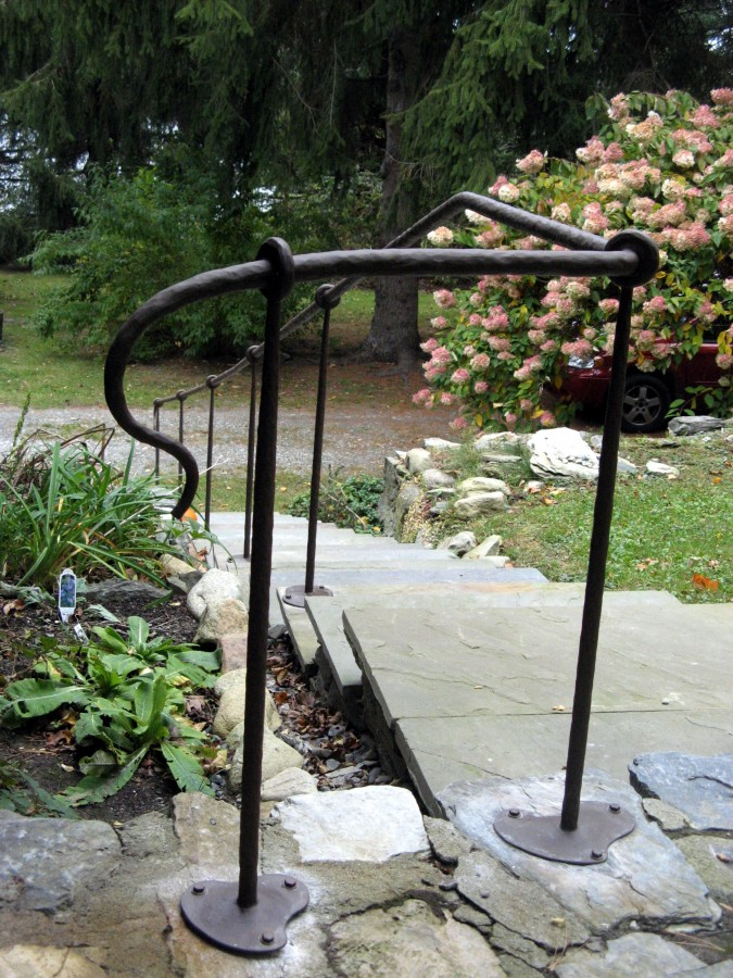 Hammer Textured Hand Rail