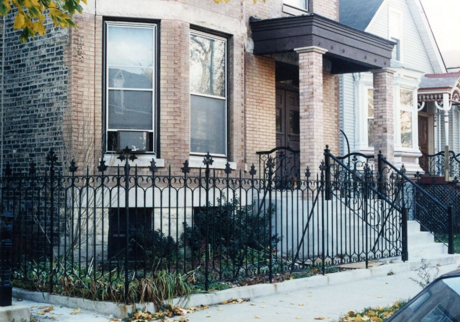 Ivy Leaf Iron Fence