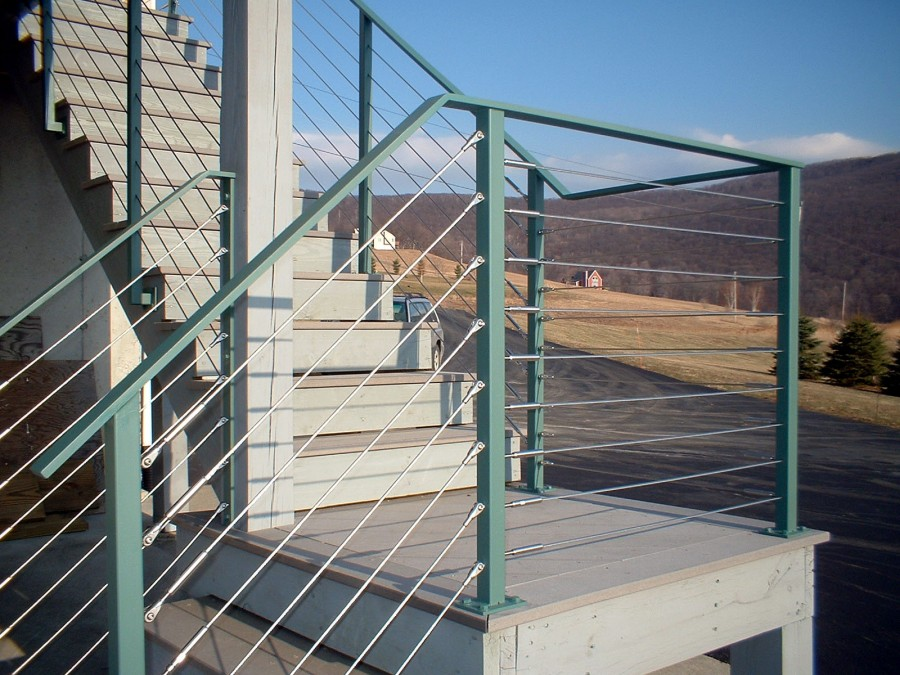 Custom Cable Or Tension Wire Railings